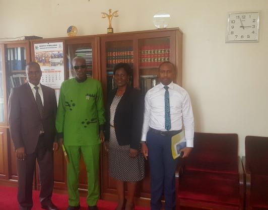 Minister of Security Pays Courtesy Call on CR