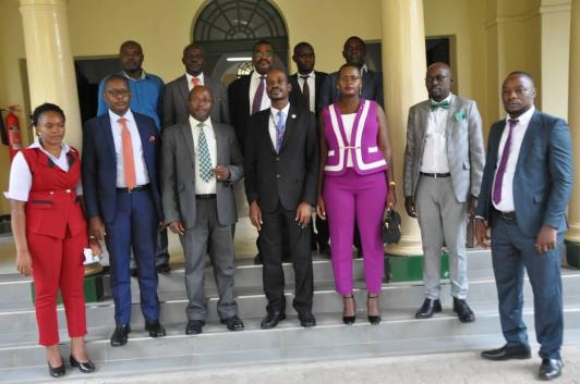New Bailiffs Association Executive Sworn-in