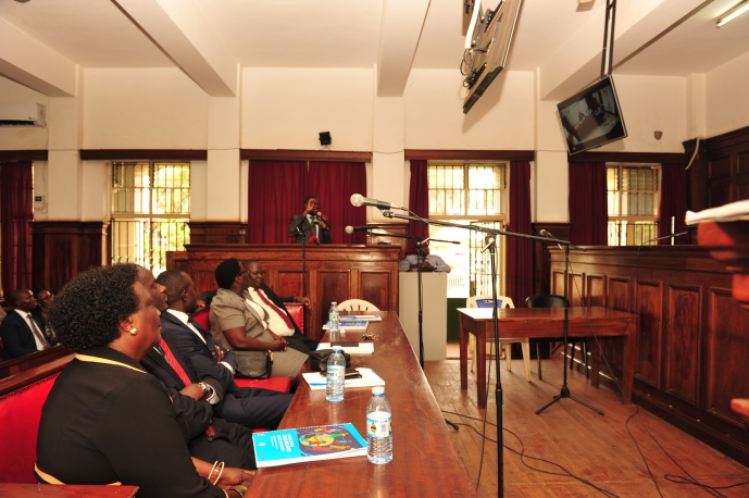 Demo of the Audio-Visual Link to Registrars and Chief Magistrates